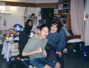Bart Goldstein & Family in Rehab Hospital